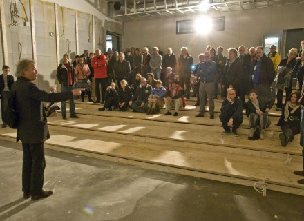 STAD-voorzitter Hendrik Groeneweg - foto: Allard de Goeij