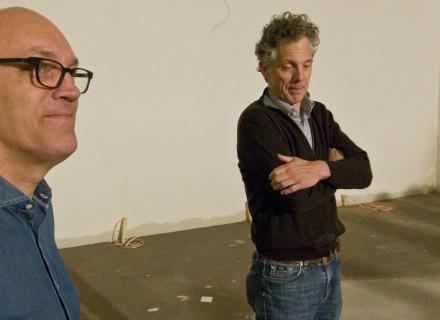 Architect Bertus de Kock en eigenaar Geert ter Steeg - foto: Allard de Goeij