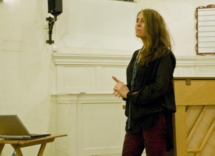 Pianiste Hanna Devich - foto: Allard de Goeij