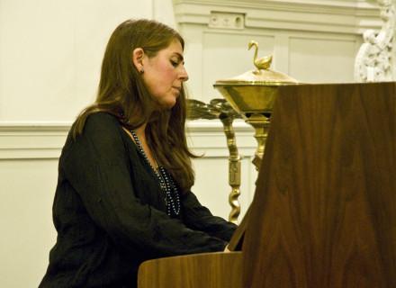 Hanna Devich speelde stukken van Jarrett en Einaudi - foto: Allard de Goeij