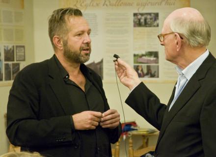 Vragen uit de zaal: Henk Kranendonk - foto: Allard de Goeij