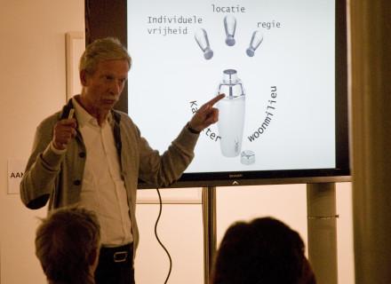 Stedenbouwkundige Wim Oosterhuis - foto: Allard de Goeij