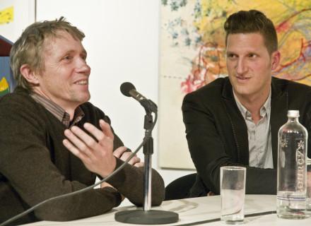 Paul Meurs en Jan-Jaap Visser - foto: Allard de Goeij