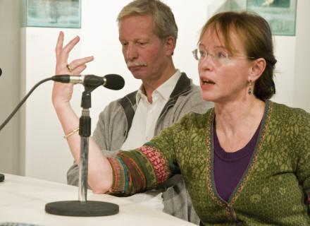 Jacqueline Tellinga en Wim Oosterhuis - foto: Allard de Goeij