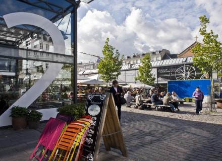 Torvehallerne - Hans Peter Hagens (foto: Allard de Goeij)