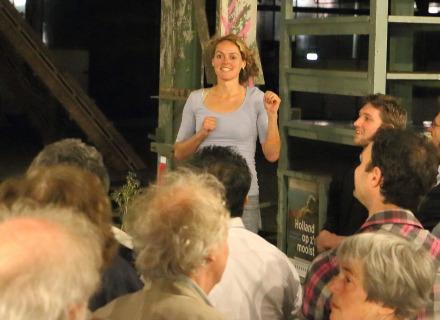 Sanne Leufkens, foto: Allard de Goeij