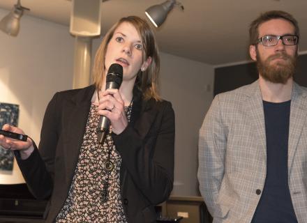 Karin Noeverman en Thomas Jansen (foto: Allard de Goeij)