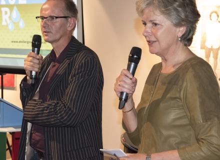 William Nederpelt en Anneke van Veen (foto: Allard de Goeij)