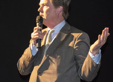 wethouder Piet Sleeking foto: Allard de Goeij