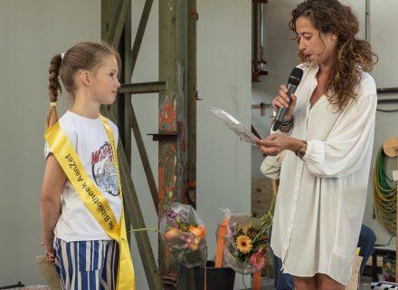 Kinderstadsdichter Janna Koekkoek (foto: Allard de Goeij)