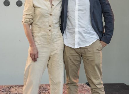 Anne Vegter & Ghayath Almadhoun (foto: Allard de Goeij)